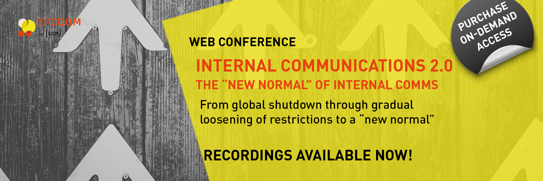 Web conference on demand access